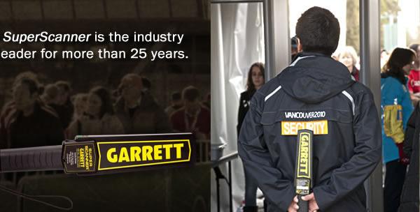 美国GARRETT盖瑞特进口手持式金属探测器 手提式金属探测仪